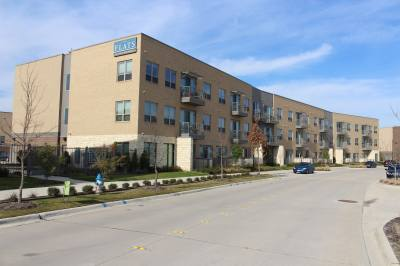 The Palisades development in Richardson houses multifamily apartments and office buildings.