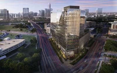 The RiverSouth building will stand at 15 stories and 350,000 square feet.