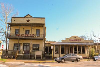 Wunsche Brothers Saloon was built in 1902 in present-day Old Town Spring.