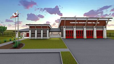 Harris County Emergency Services District 48 is planning to construct a new fire station at 24127 Western Centre Drive.