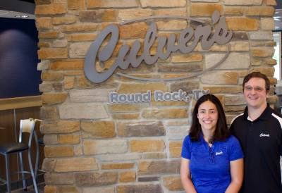 Jennifer and Jason Suplita will open Round Rocku2019s first location of Culver's.
