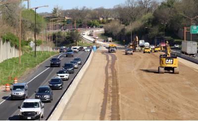 Located in downtown Nashville, this project will repave I-440 from I-40 to I-24 and create three lanes of traffic in each direction with noise walls and safety improvements.