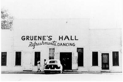 Gruene Hall was formerly known as Grueneu2019s Hall. It has continually operated since its opening in the 1840s.