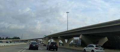 A 2005 bond package provided $34 million to build the flyovers, which opened in 2015.