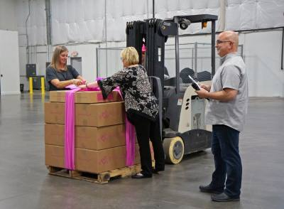 Thirty-One Gifts relocated its distribution center from Ohio to Flower Mound.