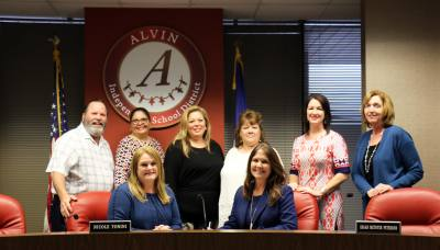 The Alvin ISD board of trustees approved Carol Nelson as the new superintendent April 30.
