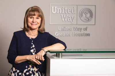 Anna M. Babin, president and CEO of the United Way of Greater Houston, announced her resignation May 23.