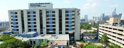Redevelopment of the former University Medical Center Brackenridge hospital is moving along. Central Health is in discussions with the city of Austin to relocate Red River Street throughout the campus.