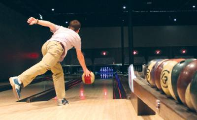 Bowling is one of several activities happening this weekend in the Conroe and Montgomery areas.