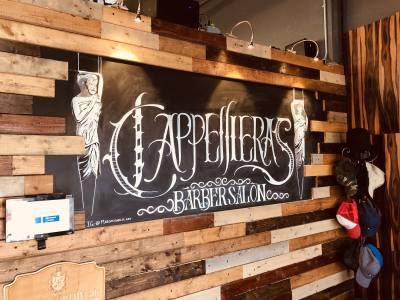Cappelliera's Barber Salon is located at 11600 Hero Way W., Ste. 120, Leander.n