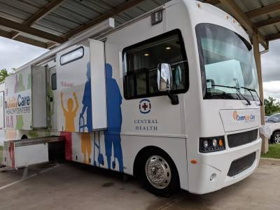 A new mobile health clinic this summer will begin providing primary health care services to areas of Travis County that Central Health has targeted as underserved.
