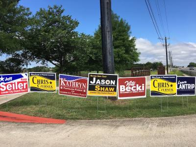 Six candidates are running for Leander City Council.