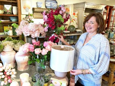Former health care accountant Mary Frank Miller has owned and operated Hot Pink since December 2011.