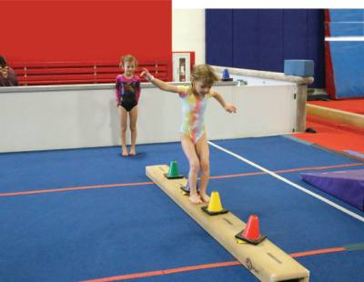 Eagle Gymnastics Academy serves children starting at age 1.