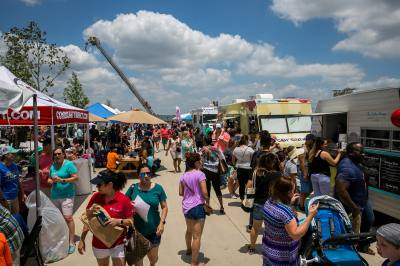 Generation Park hosts its annual Block Party in Redemption Square on May 4.