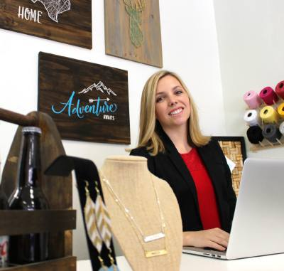 Tara Finch opened The Creative Pantry in March 2018. The do-it-yourself crafting studio can be found in historic Downtown Grapevine.