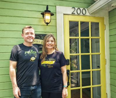 Kevin and Rachel Cummins converted former guest rooms into event spaces at Sweet Lemon Kitchen.