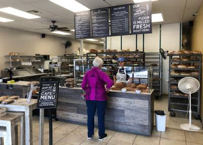 Great Harvest Bread Company's Westlake location celebrated a renovation and new ownership with a ribbon cutting at the end of April.