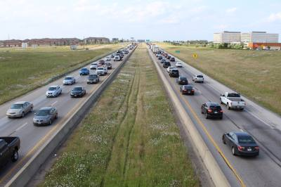 Toll lanes are expected to provide traffic relief along I-35W north of North Tarrant Parkway.