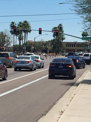 Road improvements continue on Gilbert Road south of Baseline Road.