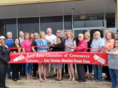 Katy Christian Ministries opened a second resale store.