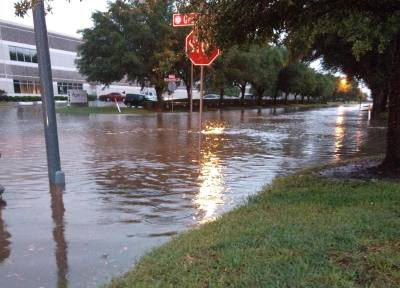 Several streets in Fort Bend County, including the Fulshear area, experienced high water during yesterday's rain event. More rainfall is expected throughout the remainder of the week.