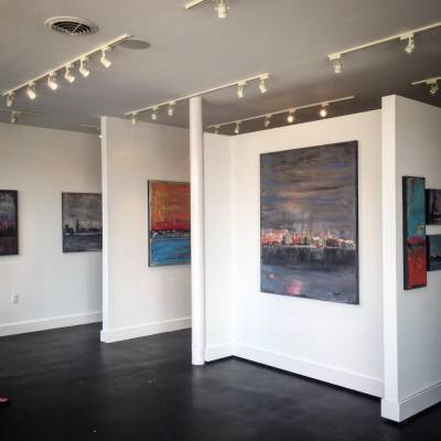 Austin artist Richie Deegan, whose hometown is Spring, will be featuring his artwork this Saturday.