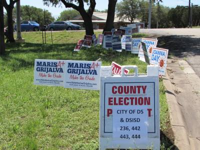 Marisa Grijalva and Joanna Day won seat on the Dripping Springs board of trustees.