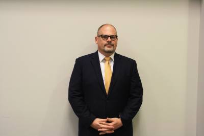 Ethan Crowell is the new principal for High School No. 9 in Katy ISD.