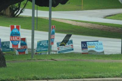 A total of nine candidates vied for four positions in Lakeway for the May 4 election.