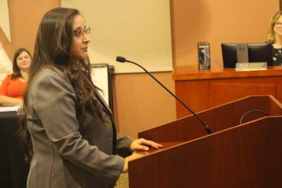 Shereen Gendy was appointed Lakeway's new finance director at a special meeting May 15.