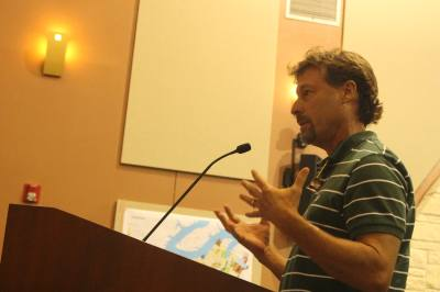 Thomas Reagan, Bee Creek Stables general partner, addressed Lakeway City Council during the May 20 meeting.