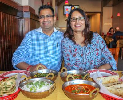 Owner Deepak Nagpal and wife, Ritu Nagpal, said the key to Indian cuisine is in the spices.