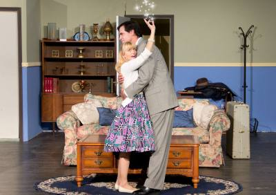 'Blithe Spirit' is performed by Way Off Broadway Community Players.