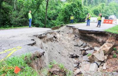 In 2017, an interlocal partnership between the city of Houston and Harris County Precinct 4 was proposed to upgrade Hamblen Road. The road collapsed on May 7 from severe floods.