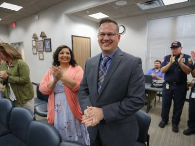 Leander City Council approved Billy Wusterhausen as the city's new fire chief May 16.