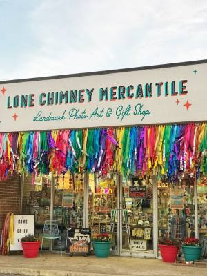 Lone Chimney Mercantile is now open in Richardson.