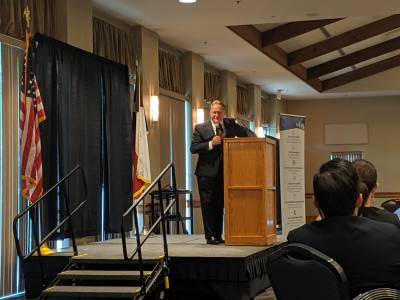 The Montgomery County judge gave the State of the County address May 9.
