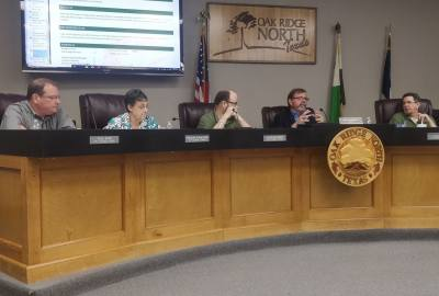 The Oak Ridge North City Council held a special meeting May 29.