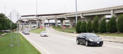 Part of the construction project includes the replacement of the Preston Road and Parkwood Boulevard exit ramps.
