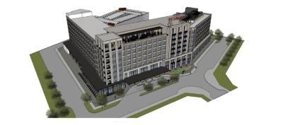 The Peabody Roanoke hotel will be built near Roanoke City Hall.