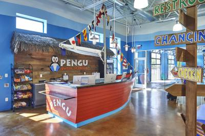 Other locations of Pengu Swim School can be found in Houston, Sugar Land and the Cinco Ranch area.