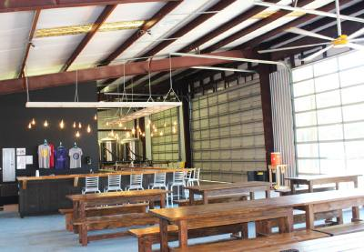 Fortress BeerWorks features indoor and outdoor seating in a dog- and child-friendly environment.