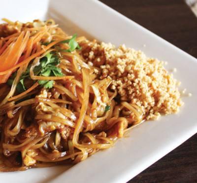 A Pad Thai dish