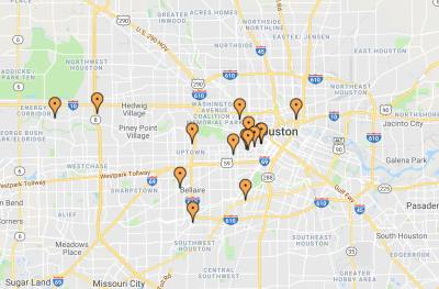 A map of participating restaurants can be found at nightoutforaustin.com