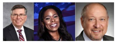 Jim Rice, Allison Drew, and Dave Rosenthal were elected to their respective positions in Fort Bend ISD.