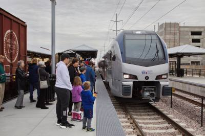When TEXRail began service in Grapevine, it opened the door for regional connectivity.