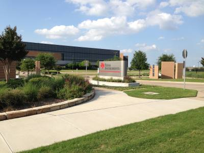 Texas Instruments plans to expand its chip manufacturing plant at Renner and Alma roads.