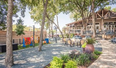 The Yard-McKinney's new backyard bar is now open for guests age 21 and older.