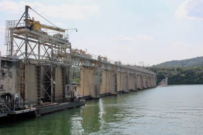 Flood operations have begun at Tom Miller Dam Friday evening, May 3.